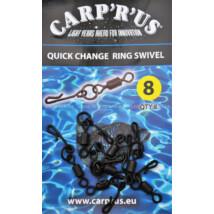 Carp ´R´ Us - Quick Change Ring Swivel 8