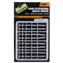 FOX Zarážky Hair Extending Boilie Props Clear