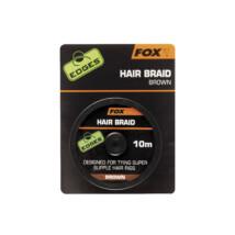 FOX Jemná šnúrka Hair Braid Brown 10m