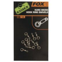 FOX Micro obratlík Kuro Micro Hook Ring Swivels 10x