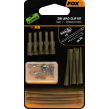 FOX Zig Systém Zig Lead Clip Khaki Kit 5x