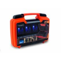 FOX Sada signalizátorov Micron MXR+ 2+1 Modrý