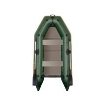 Čln Kolibri KM-300 P zelený, pevná podlaha