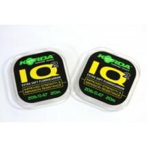 Korda IQ2 Extra Soft Fluorocarbon 20m 20lb/0,47