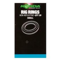 Korda Non-Reflective Rig Rings - Small