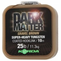 Korda šnúra Dark Matter - Gravel Brown 10m 25lb