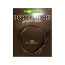 Korda Dark Matter Leader QC Swivel 50 cm Gravel 40 lb