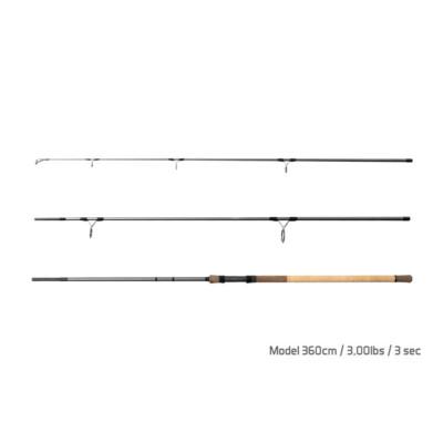 Delphin TORKS CORK / 3 diely 360cm/3,00lbs