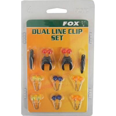 FOX - Dual Line Clip Set - 14mm