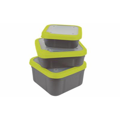 Box na nástrahy Grey/Lime Perforated 1.1pt