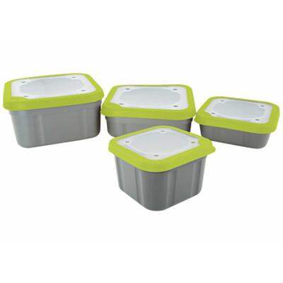 Box na nástrahy Grey/Lime Bait Boxes 1.1pt