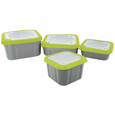 Box na nástrahy Grey/Lime Bait Boxes 1ltr