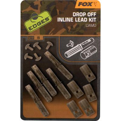 FOX Edges - Camo Drop Off Inline Lead Kit