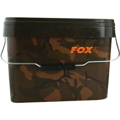FOX Konva Camo Square Carp Buckets 10L