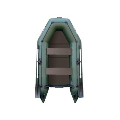 Čln Kolibri KM-260 P zelený, pevná podlaha