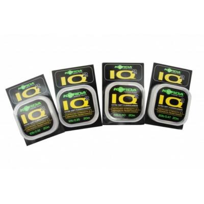 Korda IQ2 Extra Soft Fluorocarbon 20m 15lb/0,40
