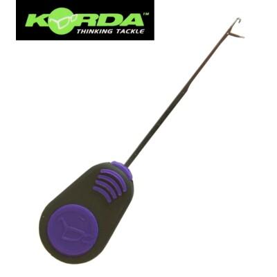 Korda Fine Latch Needle 7cm purple handle