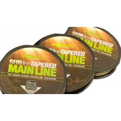 Korda Subline Tapered Mainline 0.30-0.50mm/ Brown