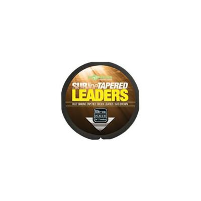 Korda Subline Tapered Leader 0.30-0.50mm/ Brown