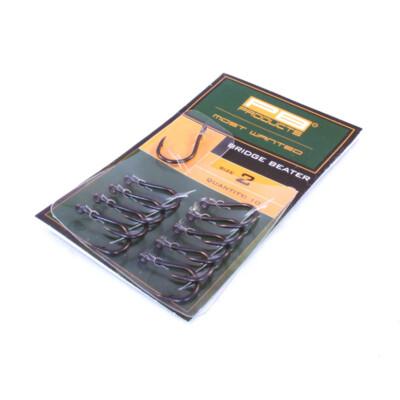 PB Products Bridge Beater Hook DBF size 4 10pcs