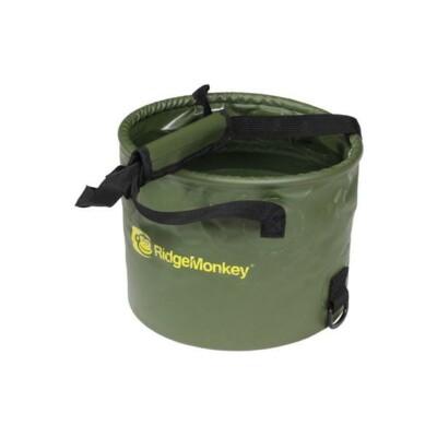 RidgeMonkey Collapsible Water Bowl Skladacie vedro 10L