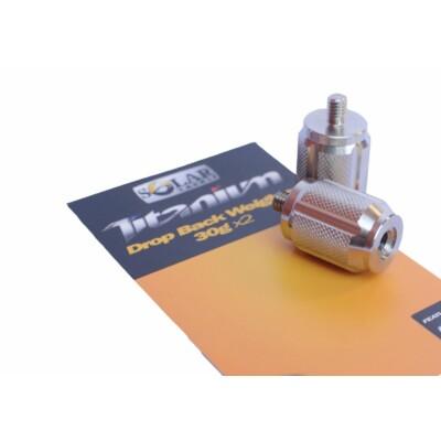 Swinger závažie Solar Tackle Titanium Drop Back Weights 2x 30g